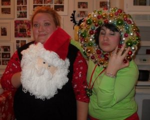 Maybe this should be drunk back Friday!  Hello tacky Christmas sweater party!